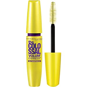 Maybelline New York The Colossal Volum' Express Waterproof Mascara, Glam Black 240, 0.27 Fluid Ounce