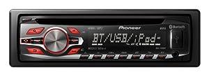 Pioneer DEH-4400BT CD-Tuner (WMA, MP3, USB, i-Phone/i-Pod, Bluetooth)