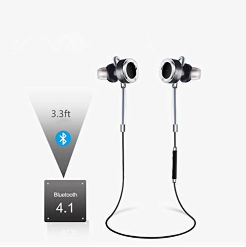 Bluetooth Headphones V4.1 SanTen Wireless In-Ear Earbuds