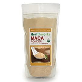 Certified Organic Raw Maca Powder - 2 Pounds