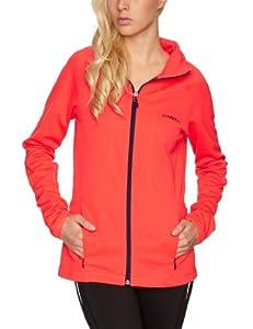 O'Neill Women's Contour Hooded Fleece  -  Neon Flame, X-Small