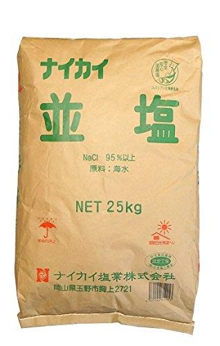 ナイカイ塩業 並塩 25kg写真1