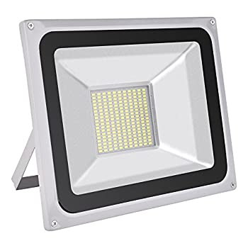 CSHITO 100W LED Flood Lights Outdoor,Waterproof IP65,9000LM,Daylight White(6000-6600K),Wall Washer Light,Super Bright Security Lights,for Garden,Yard,Stadium,Factory,Warehouse,Square,Billboard