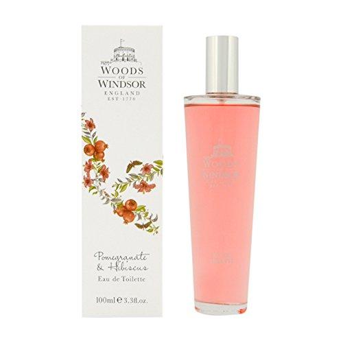 Woods of Windsor, Melograno e Ibisco, Eau de Toilette da donna, 100 ml