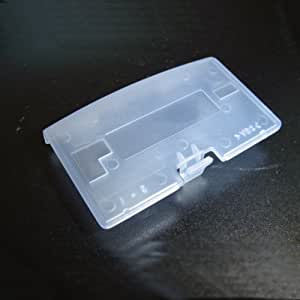 CLEAR Game Boy Advance Replacement Battery Cover