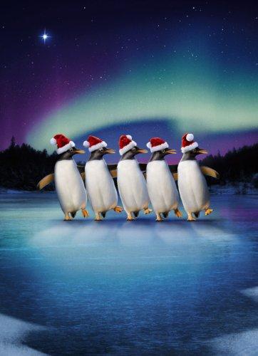 Avanti Christmas Cards, Skating Penguins, 10