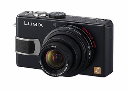 Panasonic DMC-LX2EBK Digital Camera [10.2MP, 4 x Optical, 2.8