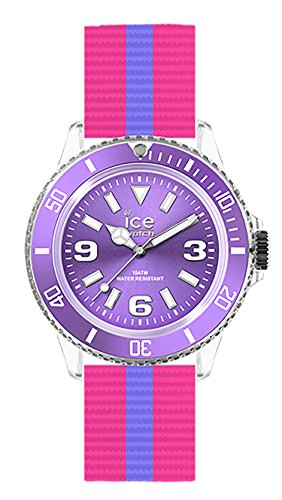 Ice-Watch Ice United UN.DI.U.N.14 - Orologio da polso da donna, cinturino in nylon colore violetto