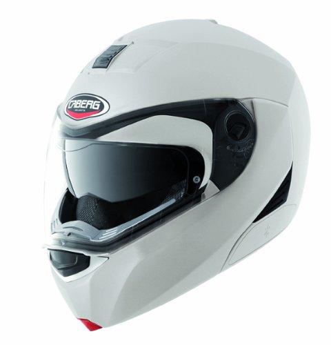 Nouveau casque de moto blanc de Modus métal 2015 Caberg