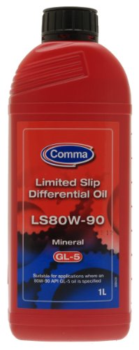 Comma LS80W901L LS80W-90 1L Limited Slip Gear Oil