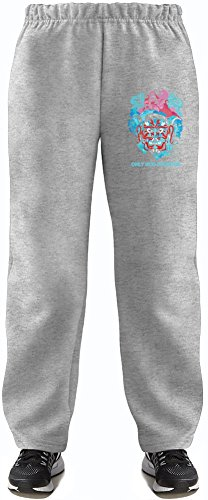 ogf only god forgives Super Soft Kids Lightweight Jog Pants by True Fans Apparel - 80% Organic, Hypoallergenic Cotton & 20% Polyester - Casual & Sports Wear - Perfect Present 5-6 years