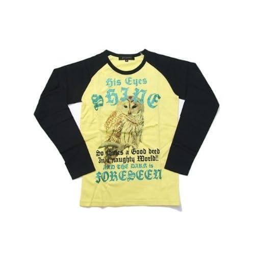 (ビーノ)BENO ラグラン長袖Tシャツ E428 (M, イエロー) [ウェア&シューズ]