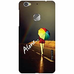 Design Worlds LeEco Le 1s Eco Back Cover - Alone Designer Case and Covers