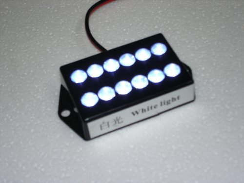 Bright 12 LED White Color Cabin Light Chart Map
