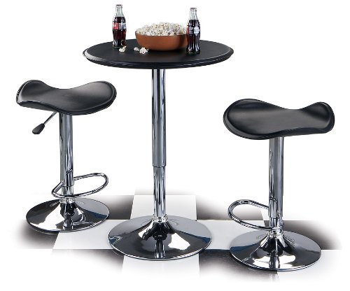 Homestyle ATABLE 25-Inch Adjustable Bar Table