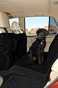 Premium Microfiber Quilted Dog Car Seat Covers