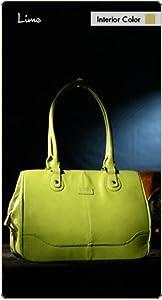 Namaste Lime Green Monroe Handbag Shoulder Bag Tote