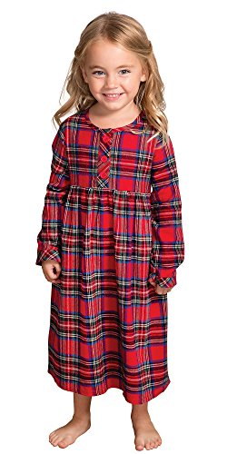 Plaid Flannel Nightgown
