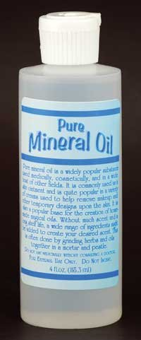 NEW Pure Mineral Oil 4oz (Spell Kits, Mixes and Aids)