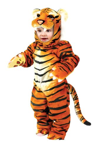 Little Tiger Infant Toddler Costume With Jumpsuit Headpiece Gloves