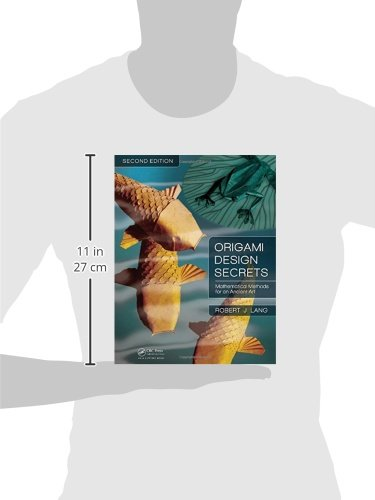 origami design secrets mathematical methods for an