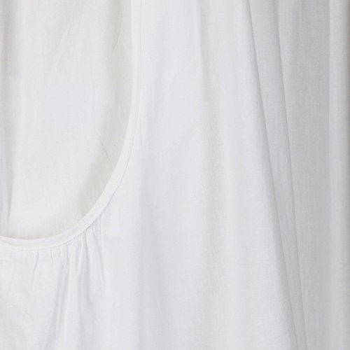 The 1 for U 100% Cotton Nightgown Vintage Design with Pockets - Victoria 4