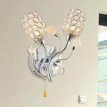 Mode minimaliste moderne Crystal Applique Mur Mur