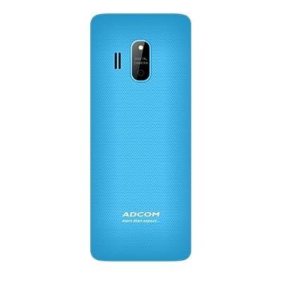 Adcom X17 (Trendy) Dual Sim Mobile- Black & Blue