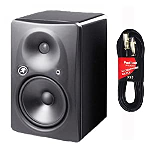 Mackie HR824MK2 High Resolution Active Studio Monitor New and 25' XLR Cable