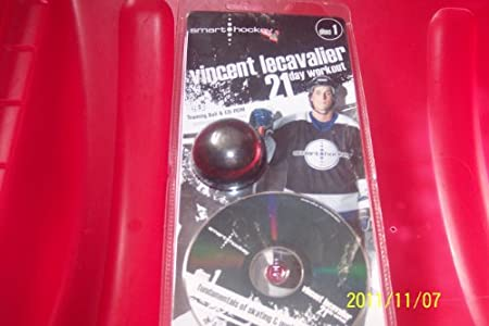 training ball & cd-rom FUNDAMENTALS OF SKATING & PUCK CONTROL/DISC1-vincent lecavalier 21 day workout