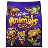 Cadbury Mini Animals Mini Bags 6 X 22G