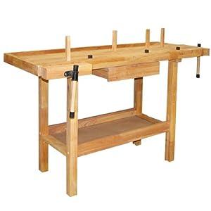 Tavolo in legno hobby 140x50x86 fai da te - Tavolo da lavoro fai da te ...