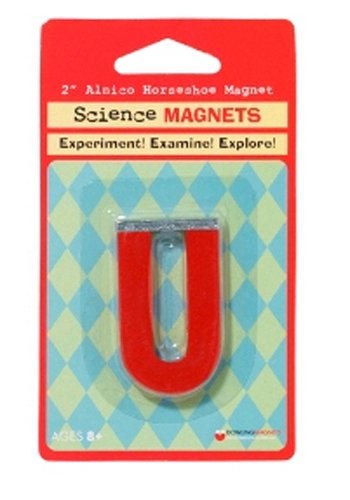 "Dowling Magnets 2"" Alnico Horseshoe Magnet"