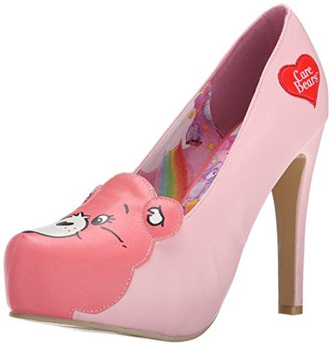iron-fist-carebears-stare-platform-zapatos-de-tacon-cerrados-de-cuero-mujer-color-rosa-talla-38