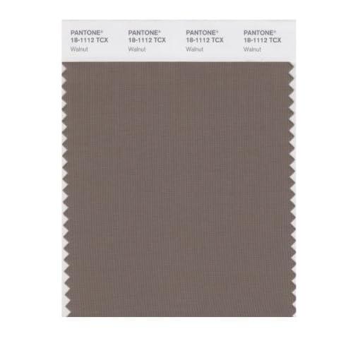 pantone smart 18 1112x color swatch card walnut wall decor stickers. Black Bedroom Furniture Sets. Home Design Ideas