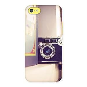 Premium Pastel Camera Back Case Cover for iPhone 5C