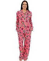 Munki Munki Women's Classic Bamboo Pajama Set