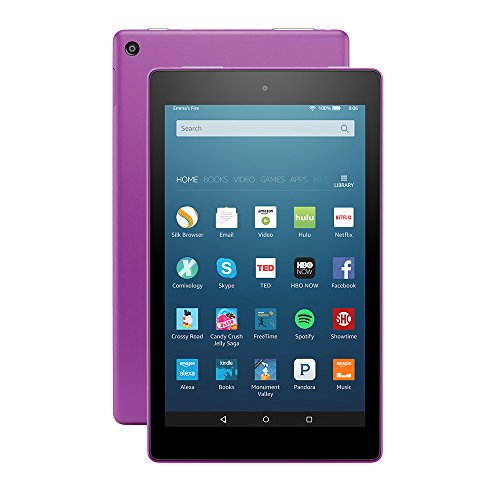 """All-New Fire Hd 8 Tablet, 8"""" Hd Display, Wi-Fi, 16 Gb - Includes Special Offers, Magenta"""