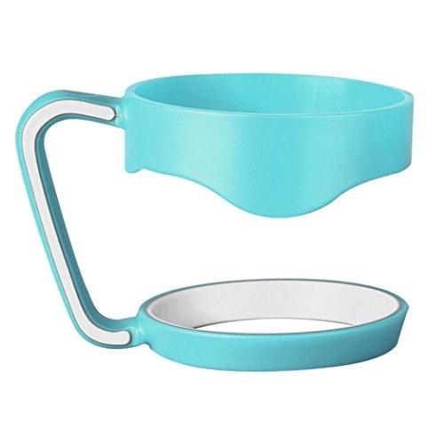 Mug Handle, PHOTNO Handle For YETI Rambler 30 oz Tumblers Slip Handle Yeti Cup (Green)