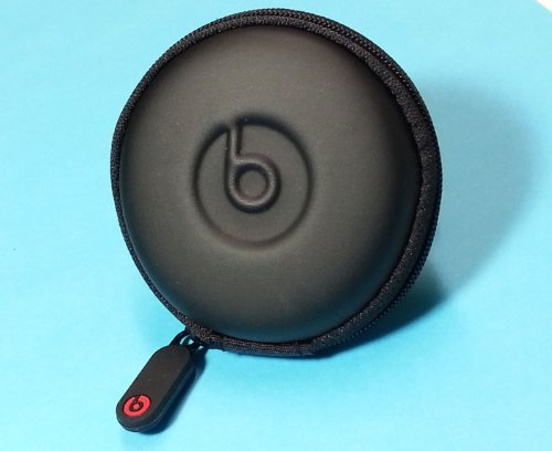In-Ear Beats Earphone Black Carrying Case For Dr.Dre, Ibeats, Tour, Heart Beats By Lady Gaga, Diddy Beats, Power Beats, Gratitude, Dna, Diesel Vektr, Isport Victory, Isport Immersion, Inspiration, Claritymobile, Ncredible N-Ergy, Street By 50, Lil Jamz, T