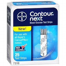 PACK OF 3 - BAYER CONTOUR NEXT TEST STRIP 25EA