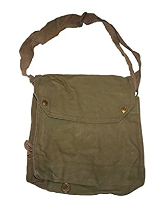 Gas Mask Model: Genuine Original 1942 Mk VII Gas Mask Raider Bag khaki in color by TexasMarket :: Gas Mask Bag :: Army Gas Masks :: Best Gas Mask