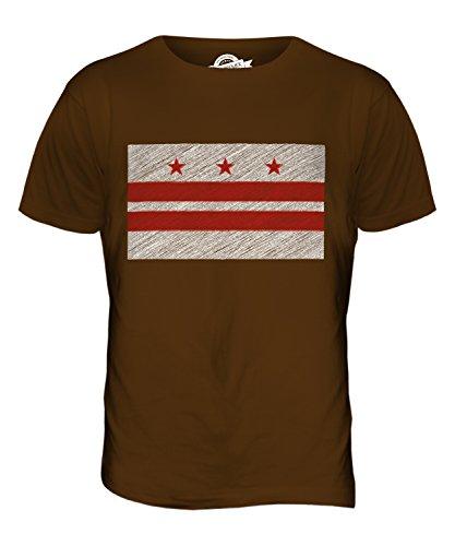 candymix-bundesstaat-washington-dc-kritzelte-flagge-herren-t-shirt-grosse-medium-farbe-braun
