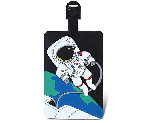 WeGlow International Fun Luggage Tag - Astronaut