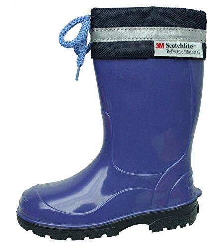 Bockstiegel Stivali di gomma da bambino Kim, Colour:blue;Size:28