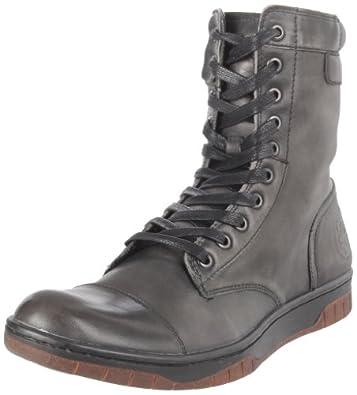 Diesel Men's Basket Butch Boot,Black,7.5 M US