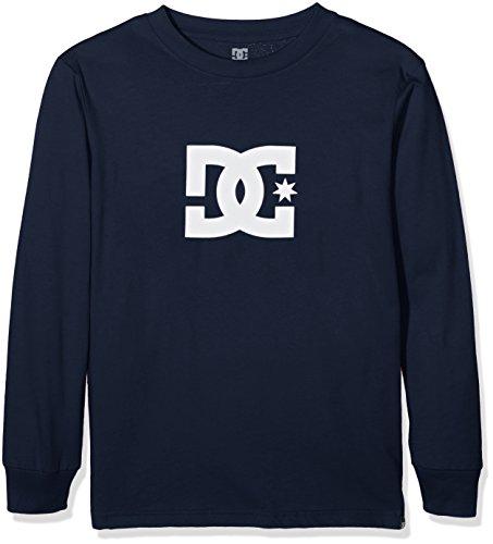 DC Shoes Star-T-Shirt a maniche lunghe per schermo, colore: blu, taglia: 42/L