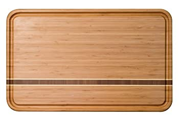 Totally Bamboo Dominica Cutting Board, 12.5-Inch