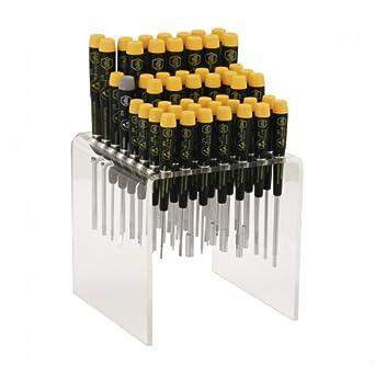 Wiha 92092 Master Technicians Bench Top Screwdriver Set, ESD Safe, 50 Piece