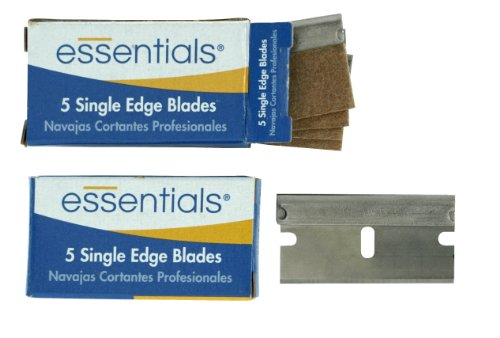 Great Neck 21037 Essentials Professional Single Edge Razor Blades